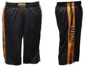 Mason Black Gym Shorts