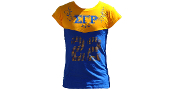 SGRho Blue T-Shirt with Rhinestones
