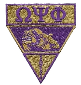 OPP Purple and Gold Emblem