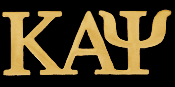 KAP Greek Letters Lapel Pin