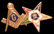 OES/Masonic Lapel Pin