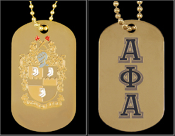 APA Double Sided Dog Tag