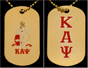 KAP Double Sided Dog Tag