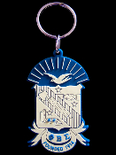 PBS PVC Key Chain