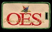 OES Embroidered Luggage Tag