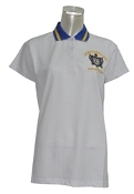 SGRho White Polo Shirt
