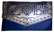 ZPB Leather Clutch Purse