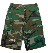 OPP Camouflage Fatigue Shorts