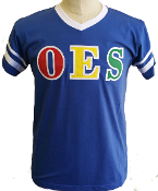 OES T-Shirt with stripes