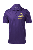 OPP Double Hit Purple Dri-Fit Polo