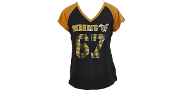 Alabama State T-Shirt with Rhinestones