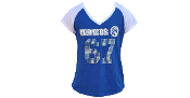 Fayetteville State T-Shirt with Rhinestones