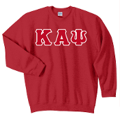 KAP Red Crewneck Sweat Shirt