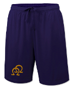 OPP Purple Double Hit Gym Shorts
