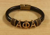 APA Leather Bracelet