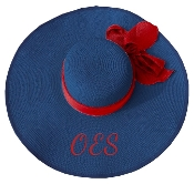 OES Blue Floppy Hat