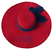 OES Red Floppy Hat