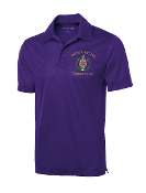 OPP Shield Purple Dri-Fit Polo