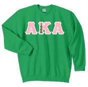 AKA Kelly Green Crewneck Sweat Shirt