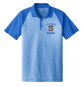 SCSU Royal Heather Raglan Polo
