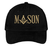 Mason Black Baseball Hat