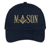 Mason Navy Baseball Hat