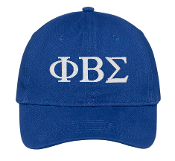 PBS Royal Baseball Hat