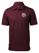 SCSU Maroon Dri-Fit Polo
