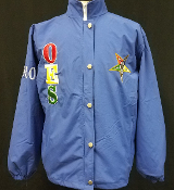 OES Royal All Weather Windbreaker