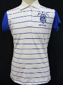 ZPB Striped Polo with contrasting sleeves