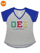 OES V-Neck Tee