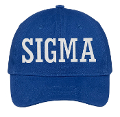 PBS SIGMA Baseball Hat