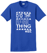 PBS Did The Right Thing Tee