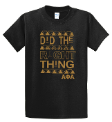 APA Did The Right Thing Tee
