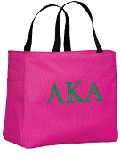 AKA Hot Pink Essential Tote Bag