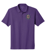 OPP Purple Pique Cotton Polo