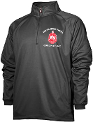 DST Black Half Zip w/Shield Pullover Jacket