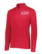 DST Red Lightweight Pullover Jacket