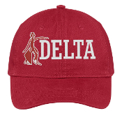 DST Red Fortitude Baseball Hat