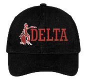 DST Black Fortitude Baseball Hat