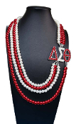 DST Multi-Layer Pearl Necklace