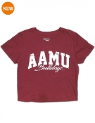 Alabama A&M Cropped Tee