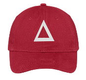 DST Red Pyramid Baseball Hat