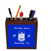 PBS Desk Pen Holder