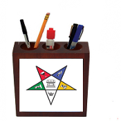 OES Desk Pen Holder